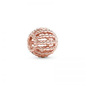 PANDORA Pärlad Openwork Berlock Rosé fri frakt på Jewelrybox.se