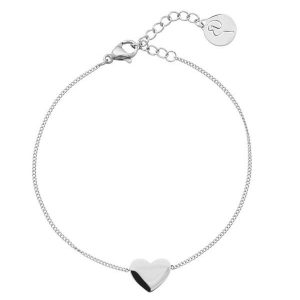 Edblad Pure Heart Bracelet Steel  - Jewelrybox.se