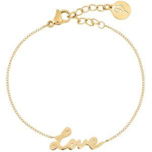 Edblad Love Bracelet Gold  - Jewelrybox.se