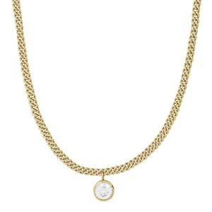 Edblad Lourdes cz Necklace Gold  - Jewelrybox.se