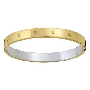 Edblad Signature Bangle Gold/Steel  - Jewelrybox.se