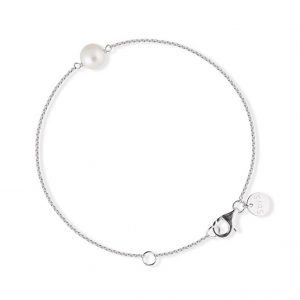 Sophie By Sophie  Pearl bracelet - Silver with white pearl