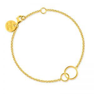 Sophie By Sophie  Circle bracelet - Gold
