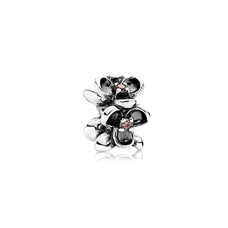 Pandora Charms Of Pansy Flower