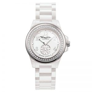 Glam Chic Watch White 33mm från Thomas Sabo