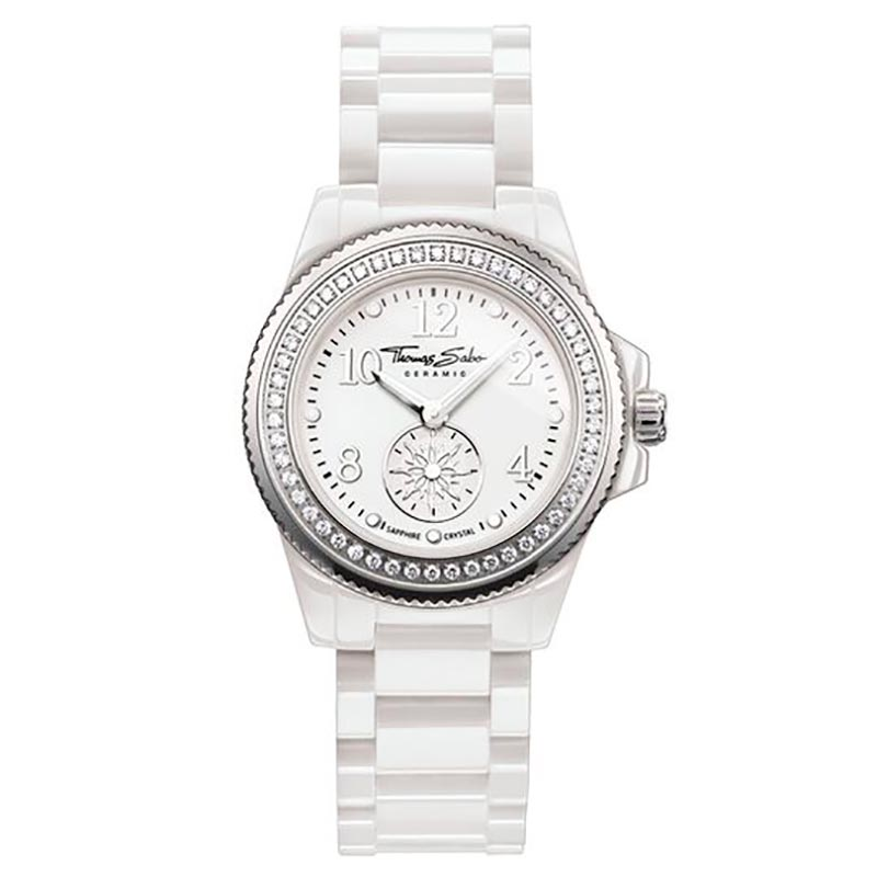 Thomas Sabo Glam Chic Watch White 33mm