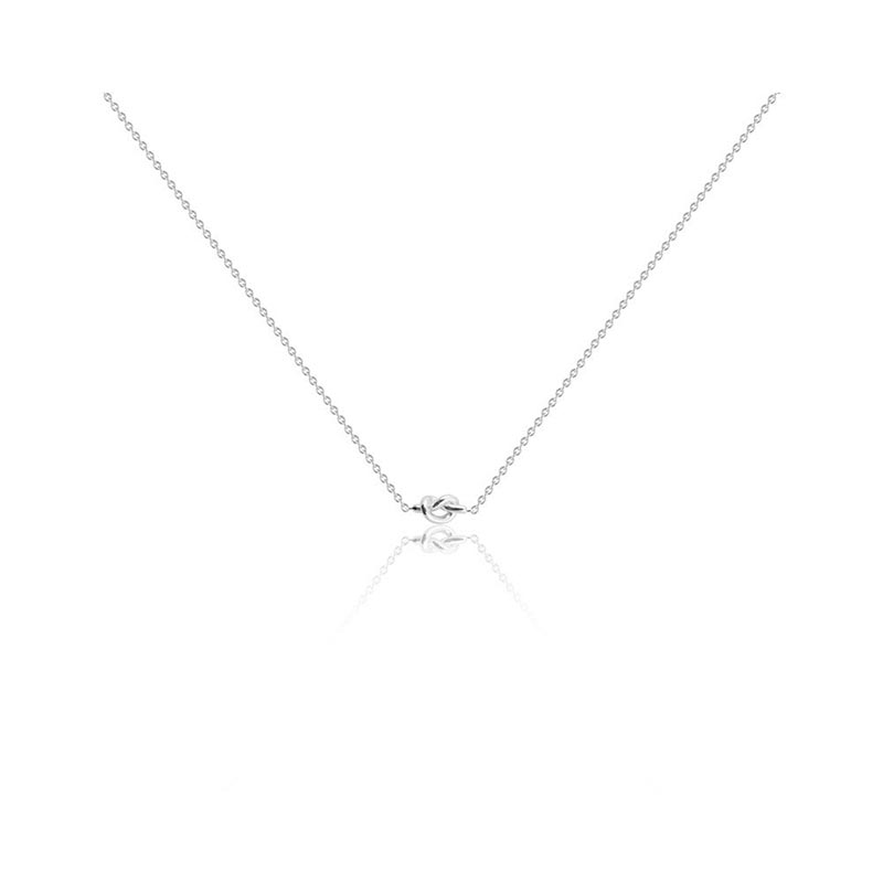 SOPHIE by SOPHIE Knot necklace – Silver