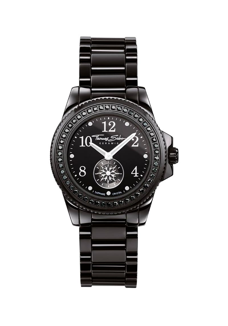 Thomas Sabo Glam Chic Watch Black 33mm