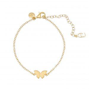 Butterfly brace gold från CU Jewellery