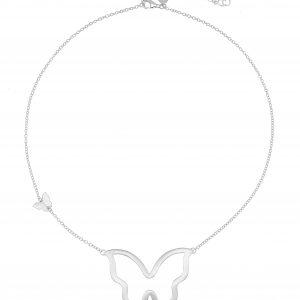 Butterfly big neck 45-50 silver från CU Jewellery