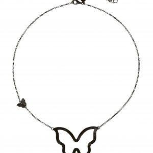Butterfly big neck 45-50 black från CU Jewellery
