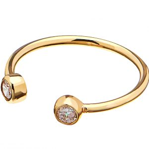 Brilliant small ring Gold från CU Jewellery