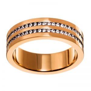 Josefin Ring Double Gold från Edblad