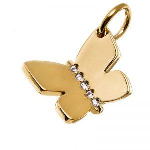 Charmentity Butterfly Gold från Edblad