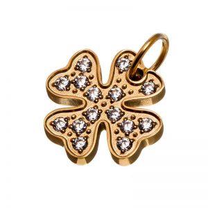 Charmentity Lucky cz Gold från Edblad