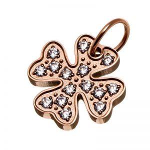 Charmentity Lucky cz Rose Gold från Edblad