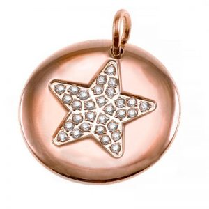 Charmentity Star Large Rose Gold från Edblad