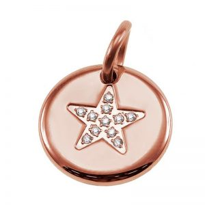 Charmentity Star Small Rose Gold från Edblad