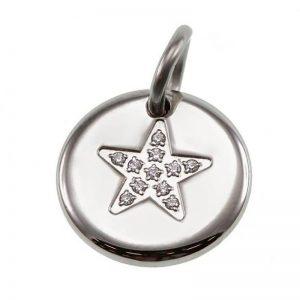 Charmentity Star Small Steel från Edblad