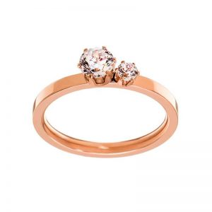 Crown Ring Double Rose Gold från Edblad