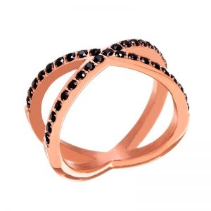 Glow X Ring Black från Edblad
