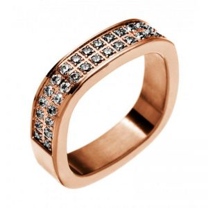 Jolie Ring cz Rose Gold från Edblad