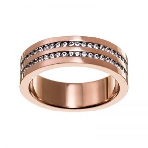 Josefin Ring Double Rose Gold från Edblad