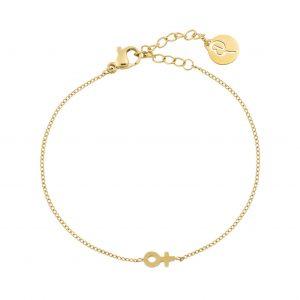 Edblad Me Mini Bracelet Gold  - Jewelrybox.se