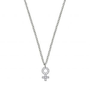 Edblad Me Mini Necklace Steel  - Jewelrybox.se