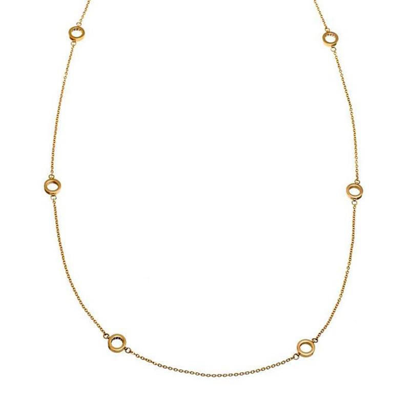Edblad Monaco Necklace Multi Mini Gold