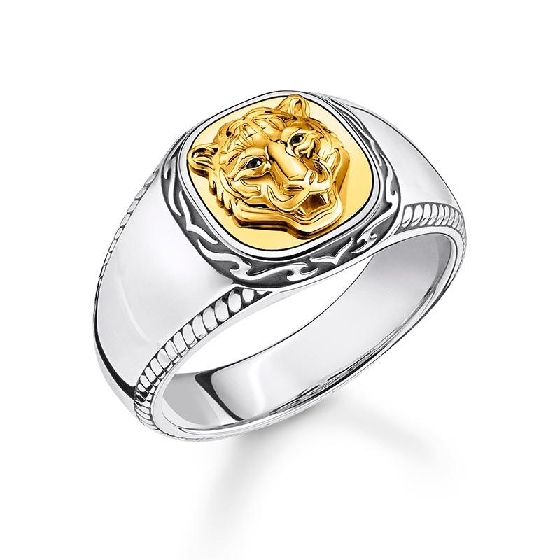Thomas Sabo Ring Tiger Guld