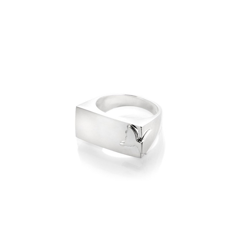 Carolina Gynning Square Butterfly Ring