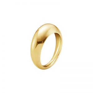 Curve Ring Slim Guld från Georg Jensen