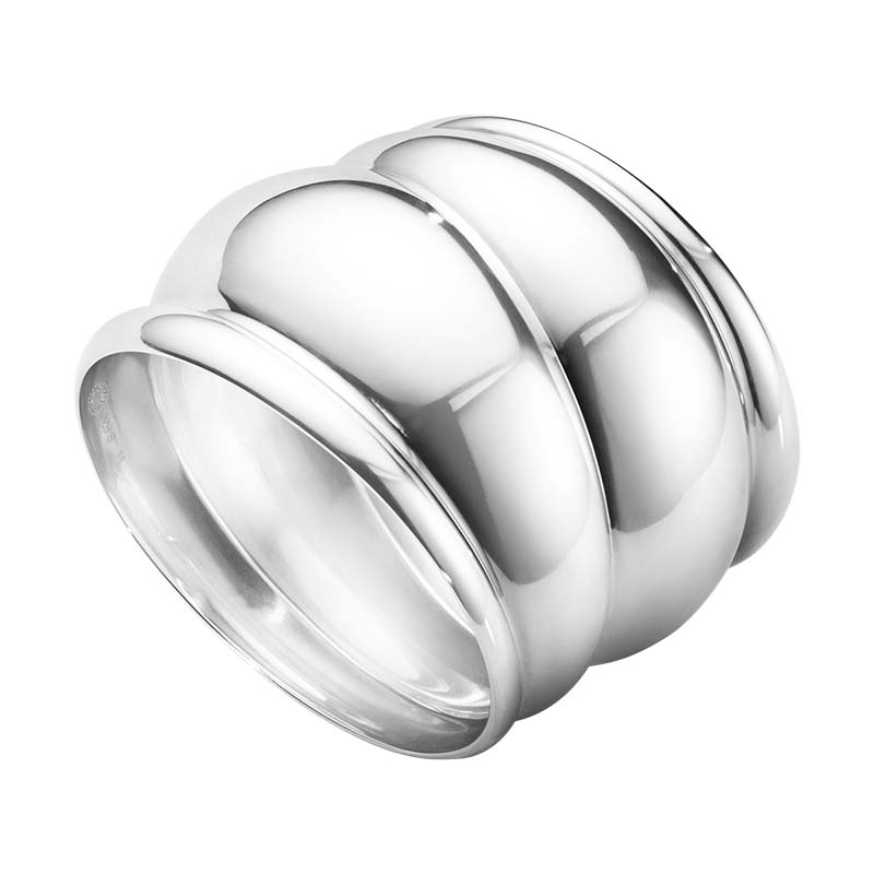 Georg Jensen Curve Armband Silver Stor