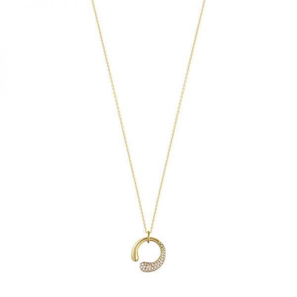 Mercy Halsband Guld/Diamanter 0