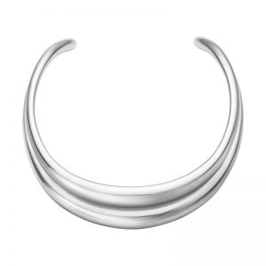 Curve Halsring Silver från Georg Jensen