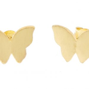 Butterfly ear gold från CU Jewellery