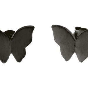 Butterfly ear black från CU Jewellery
