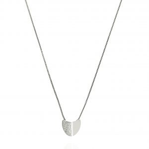 Roof small pendant neck 40-45 Silver från CU Jewellery