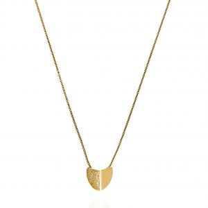 Roof small pendant neck 40-45 Gold från CU Jewellery