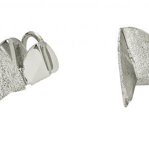 Roof double ear Silver från CU Jewellery