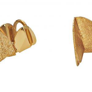 Roof double ear Gold från CU Jewellery