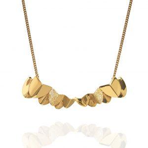 Roof big neck 40-45 Gold från CU Jewellery