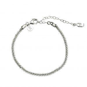 Roof big plain braclet Silver från CU Jewellery
