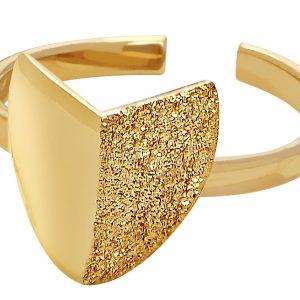 Roof big ring gold från CU Jewellery