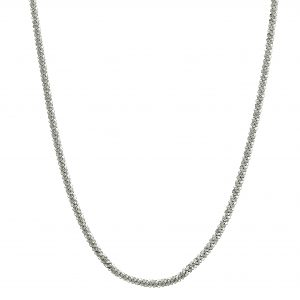 Roof big plain neck 40-45 silver från CU Jewellery