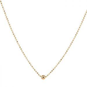 ZARA Kort Halsband Guld från Astrid & Agnes