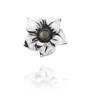 Flower Ring Månsten från Georg Jensen