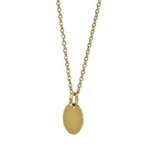 LINN Kort Halsband Guld från Astrid & Agnes