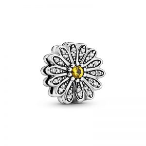 Sparkling Daisy Flower Berlock från PANDORA